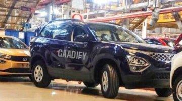 2021 Tata Safari Production Already Underway; Spied At Tata's Plant