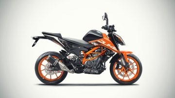 Twin-cylinder KTM 490 Duke digitally imagined - IAB Rendering