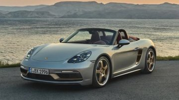Porsche Celebrates 25 Years Of the Boxster With This Special Edition Model