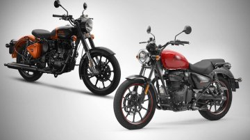 Royal Enfield Meteor 350 vs Classic 350 - Spec Comparison