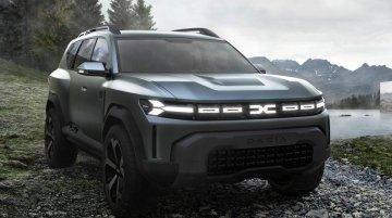 Dacia Bigster Concept - Image Gallery