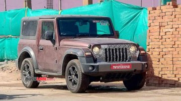 Is A Convertible Hard-Top Variant Of The Mahindra Thar In Works?