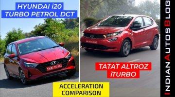 Hyundai i20 Turbo vs Tata Altroz iTurbo - Acceleration Test - Shocking Results