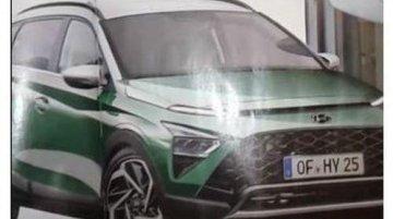 Upcoming i20-Based Hyundai Bayon SUV Images Leaked Ahead of Global Debut