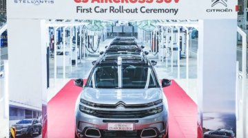 Citroen C5 Aircross Local Assembly Commences in India; New Details Revealed
