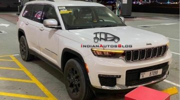 2022 Jeep Grand Cherokee L Spotted In Flesh For The First Time In Dubai