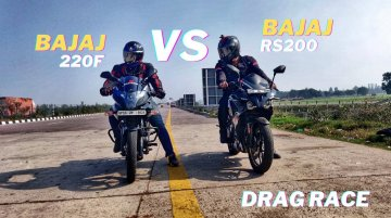 Bajaj Pulsar 220F vs Pulsar RS 200 - No Replacement for Displacement?