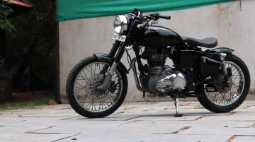Convert Your Royal Enfield Classic 350 into Bobber Using this Bolt-on Kit