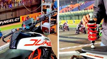 KTM 390 Duke Owner Gets YSS Adjustable Rear Suspension for Track Days