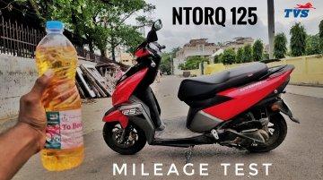 TVS NTorq 125 Fuel Economy Test - Can it Reach 50km/l Mark? [Video]