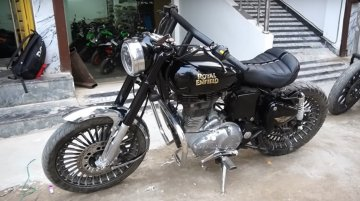 Discarded Royal Enfield Classic 350 Restored, Looks Better than Stock