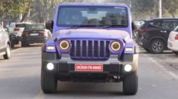 Second-Gen Mahindra Thar Modified Very Tastefully For A Wrangler-Like Look