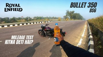 Royal Enfield Classic 350 Real-World Fuel Economy Test [Video]