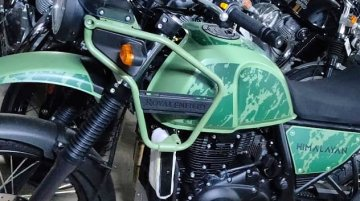 2021 Royal Enfield Himalayan Pine Green Colour Spied, to Launch Today