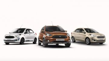 Ford Figo, Aspire and Freestyle Variants Reshuffled To Just 2 Or 3 Trims