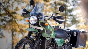 New Royal Enfield Himalayan Launched, is RE's 2nd Bike w/ Tripper NAV