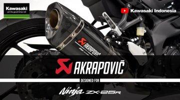 Kawasaki Ninja ZX-25R w/ Akrapovic Exhaust Will Make Your Day [Video]