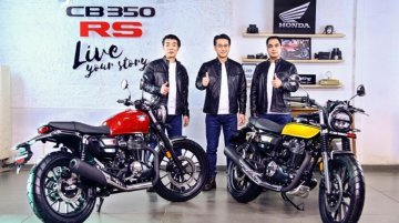 New Honda CB350RS Launched, is a Sportier Version of H'ness CB350