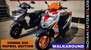 Honda Dio Repsol Edition vs Regular Model - Comparison Video