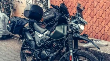 Modified Hero Xpulse 200 Looks Ready for Long-Distance Touring