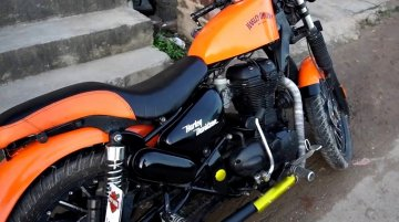 Royal Enfield Classic 350 or Harley-Davidson Iron 883? Impressive mods!