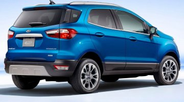 Ford EcoSport To Lose Its Tailgate-Mounted Spare Wheel With New SE Variant