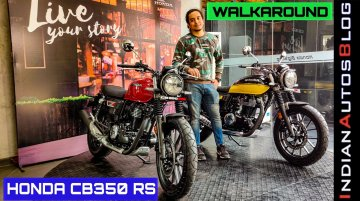 Check Out Honda CB350RS Features in Walkaround Video