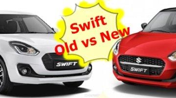 2021 Maruti Suzuki Swift - Old vs New - Specs, Prices and Features Compared