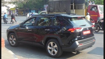 Toyota RAV4 Hybrid Spotted Testing In India; Is It Up For A Launch?