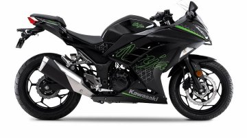 BS6 Kawasaki Ninja 300 Colours Revealed Ahead of Launch