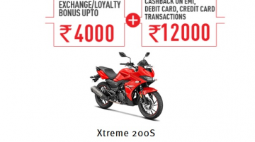 New Hero Xtreme 200S Cashback & Exchange/Loyalty Offers Announced