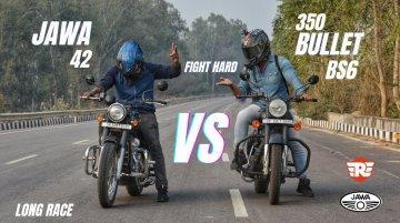 Royal Enfield Classic 350 vs Jawa 42 - Top-End Battle of Retro Bikes