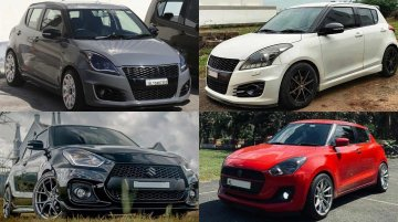 Modified Maruti Swift - Top 5 Cars Worth Checking Out
