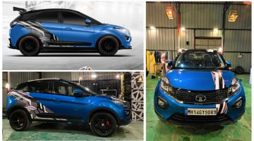Modified Tata Nexon – Crazy Transition from Rendering to Real Life