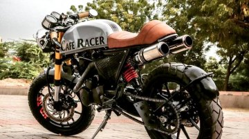 Hero Karizma Looks Drop Dead Gorgeous in Cafe Racer Avatar