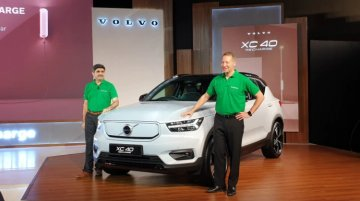 Volvo XC40 Recharge India Bookings To Begin From June; Launch In October 2021