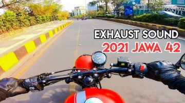 Here's What 2021 Jawa 42 Exhaust Sounds Like [Video]