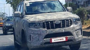 2021 Mahindra Scorpio Spied Yet Again, Refuses to Shed Camo