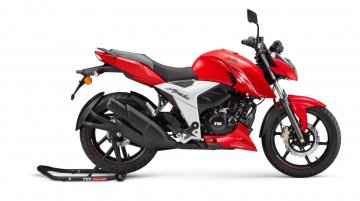 TVS Apache RTR 160 4V Now Lighter & More Powerful