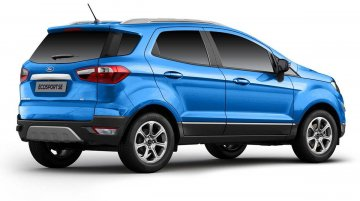 Ford EcoSport SE With Unique Rear-End Design Launched In India