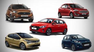Top 5 Diesel Hatchbacks Under INR 10 Lakh - Hyundai, Ford & More