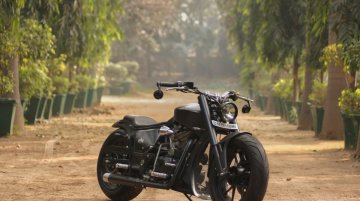 Modified Royal Enfield Low Rider Cruiser is a Delight to Watch