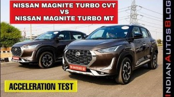 Nissan Magnite Manual vs CVT Acceleration - Can You Guess The Winner?