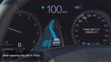 Watch Honda Sensing Level 3 Autonomous Tech In Flawless Action - Video
