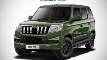 Upcoming Mahindra Bolero Neo (TUV300 Facelift) Visualized In Digital Rendering