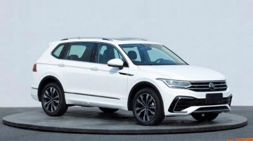 Volkswagen Tiguan AllSpace Facelift Spied Overseas; India-Bound In 2022