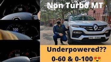 Renault Kiger Non-Turbo Variant Acceleration Test - VIDEO