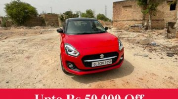 2021 Maruti Swift Already On Sale With Discounts - Upto INR 50k Off!