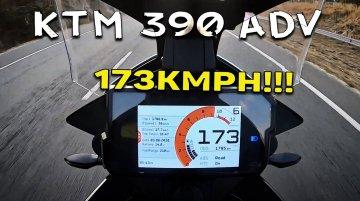 Can KTM 390 Adventure Surpass 173km/h? Let's Find Out [Video]