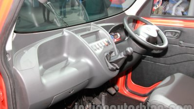 Tata Ace Zip XL dashboard from passenger side